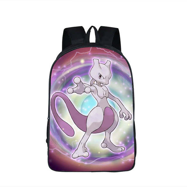 c99846a48019 placeholder Anime Pokemon Backpack Boys Girls School Bags Children Pikachu  Backpack For Teenagers Kids Gift Backpacks Schoolbags