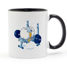 WEIGHT LIFTING ACCIDENT Broken Egg Coffee Mug Creative Gifts 11oz GA1563 accident