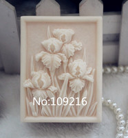 Wholesale 1pcs square flowers zx102 handmade soap mold crafts diy silicone mould.jpg 200x200