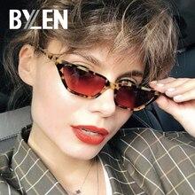 2019 Fashion Sunglasses Women Small Cat Eye Sun Glasses Vintage Cute Brand Trans