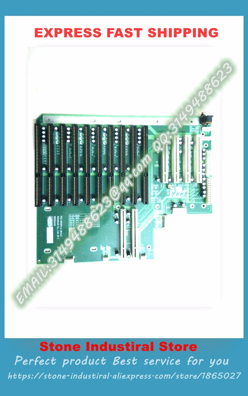 PCA-6114P4-C REV: C1 C2 IPC IPC motherboard backplane with 10 ISA slots 100% test good quality women s geniune leather high heels shoes women pointed toe pure color high heeled pumps office lady sexy footwear size 33 40