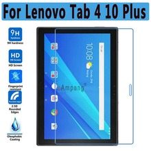 Tempered Glass for Lenovo Tab 4 10 Plus Screen Protector for Lenovo Tab 4 10 Plus 10.1 inch Scratchproof Ultra Thin High Clear