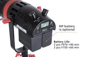 Image 3 - 3 個 CAME TV Q 55S Boltzen 55 ワット高出力フレネル Focusable の Led 2 色キットスタンド