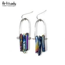 earrings earring crystal peacock