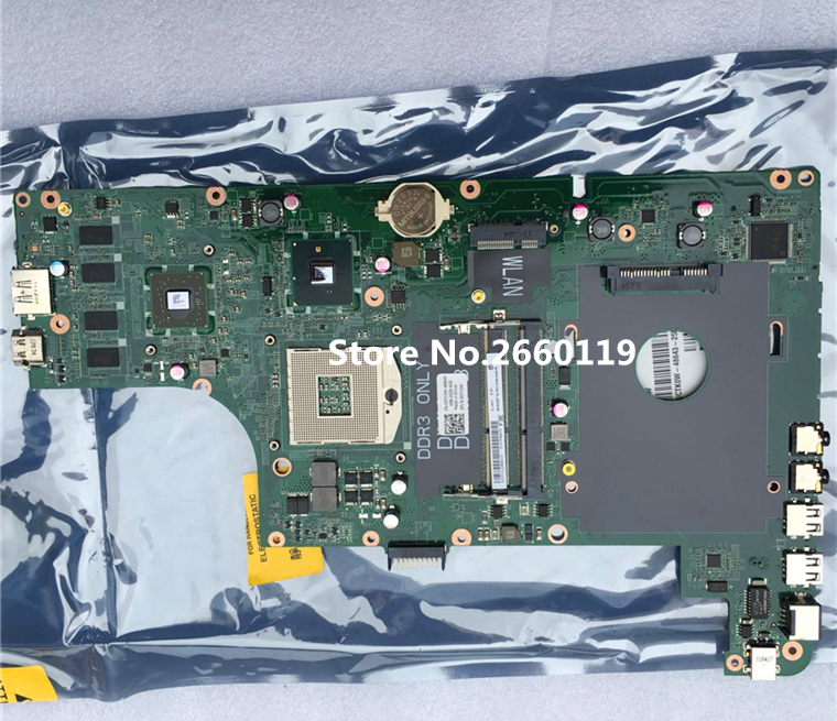 For laptop N3010 CTK0W 0CTK0W motherboard Fully tested nokotion mainboard cn 0ctk0w ctk0w daum7bmb6e0 for dell inspiron n3010 laptop motherboard hm57 hd4500 ddr3 tested
