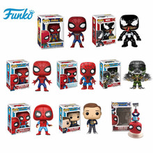 Action-Figure Model-Toys Collection SPIDER-MAN Birthday-Present Animation Movie Disney