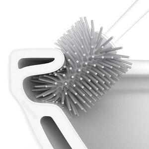 Image 5 - Напольный набор Youpin YJ с основанием, длинная щетка для чистки туалета, аксессуары для туалета