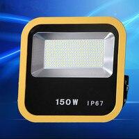 220 В светодио дный прожектор 10 Вт 30 Вт 50 Вт 100 Вт 150 Вт светодио дный прожектор Водонепроницаемый IP67 стены наружного освещения теплый белый пр...