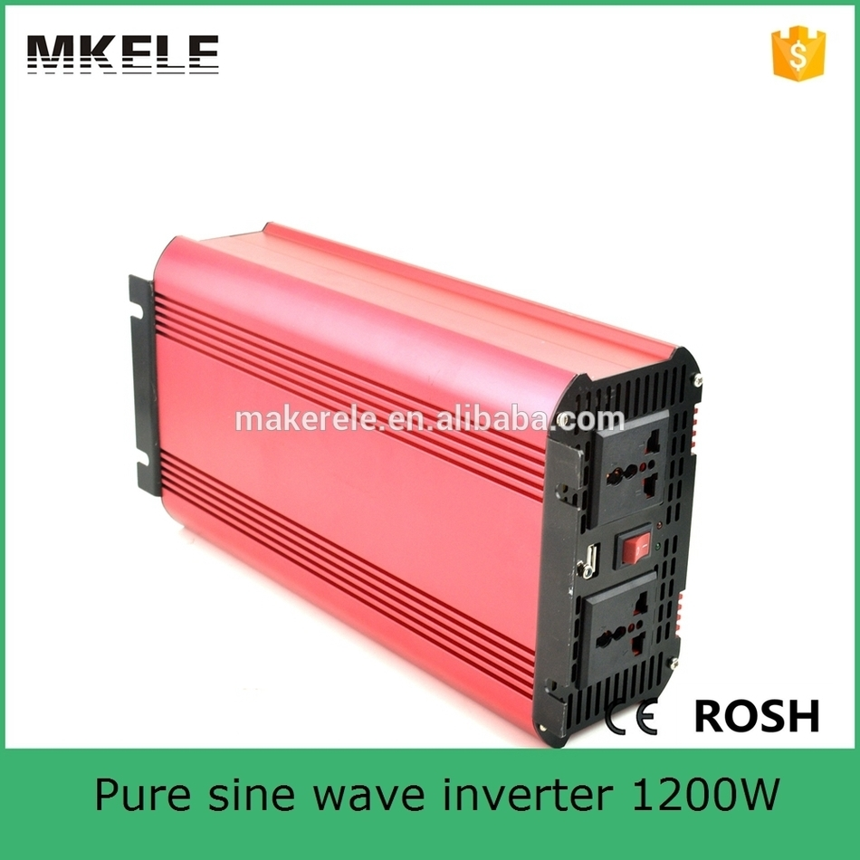 MKP1200-242R low price off grid dc to ac 1200watt pure sine wave power inverter 24vdc to 240vac inverter with fast shipping