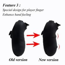 IVYUEEN antideslizante caso la piel de silicona para Sony PlayStation Dualshock 4 PS4 Pro Slim controlador con palo apretones tapas