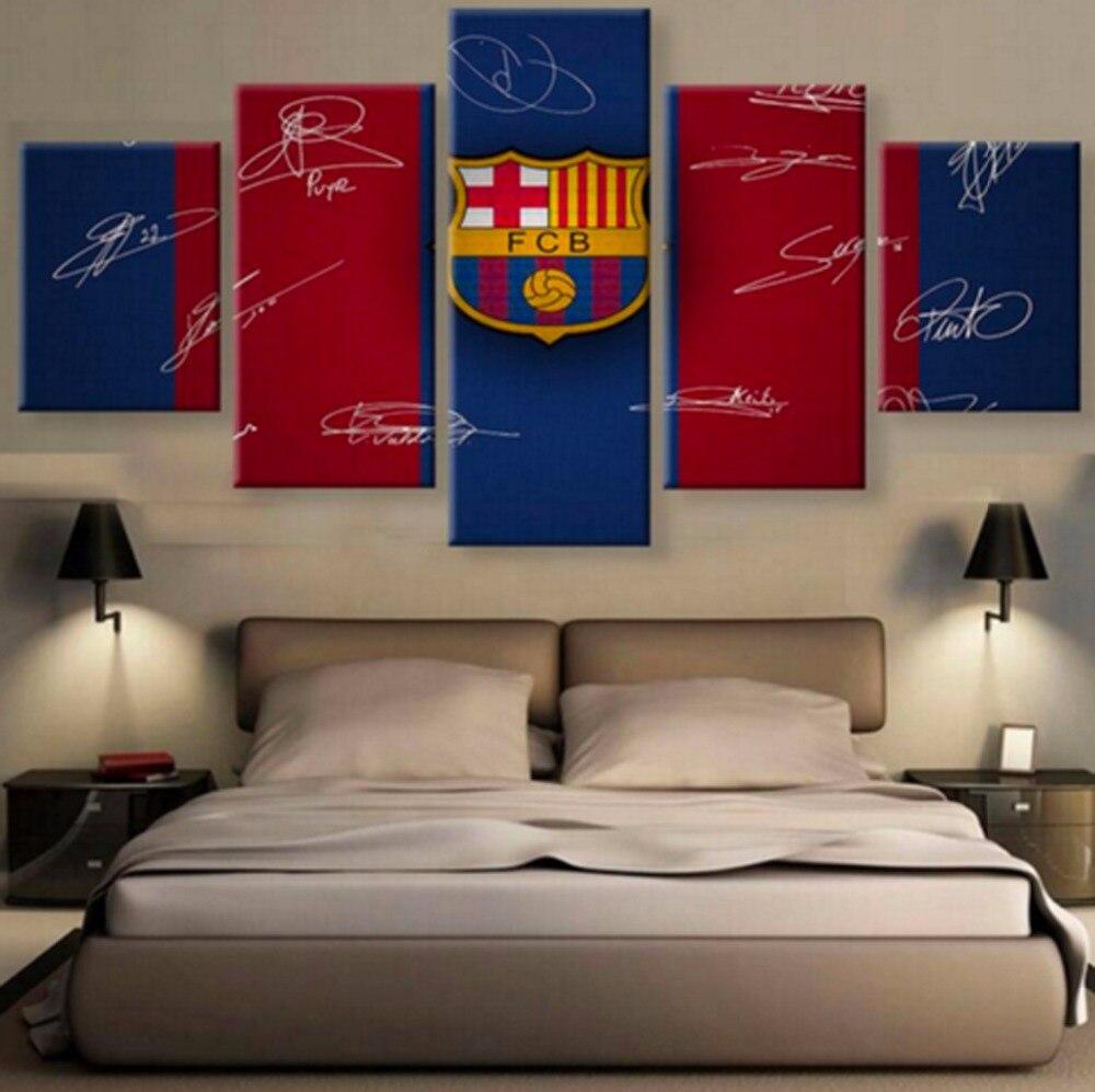 Modern Wall Decor For Living Room Popular Barcelona Wall Art Buy Cheap Barcelona Wall Art Lots From