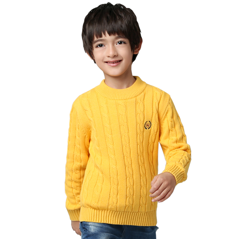 Toddler Boys Winter Knitted Tops Fashion Candy Color Children Woolen Sweaters Winter Thermal Kids Pullover Jumpers Clothes 3-13T autumn fashion 2pcs kids girl clothes set winter warm t shirt tops skirt toddler outfits children knitted costumes suits 3 13t