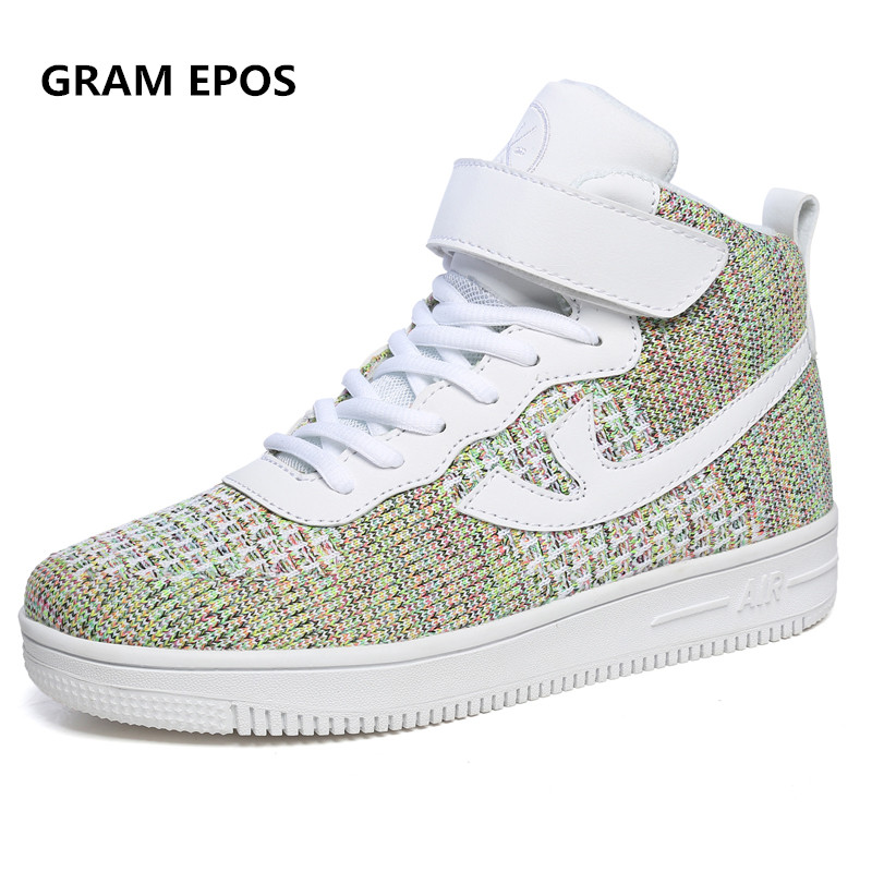 GRAM EPOS Unisex 2018 Retro Style flats footwear Mens air Casual Shoes Spring Autumn Vintage High Top Men Shoes male trainers