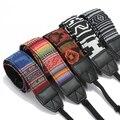 Nuevo Color Estilo Hippie de La Vendimia SLR DSLR Cámara Correa de Cuello Del Hombro cinturón de Algodón Resistente para Canon para Nikon para Pentax para Sony