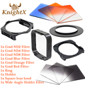 KnightX Graduated ND Filter Set for Cokin P for Nikon d5100 d5300 d3100 Canon 5d mark ii 650d 70d d7200 lenses d90 6D 49MM 82MM