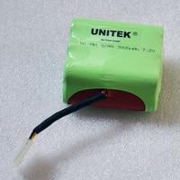 1pcs 7.2V 3800mAh 4/3A NI MH Battery Pack For Neato XV11 XV 11 XV 11 12 14 15 21 28 Pro Vacuum Cleaner Sweeping Robot Series