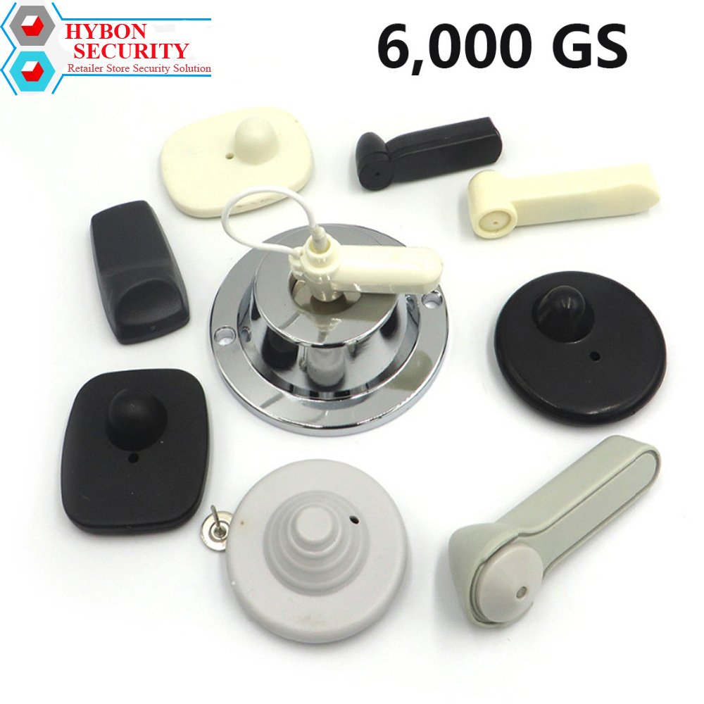 HYBON Security Tag Detacher Tag Remove 6,000GS EAS Magnet Security Remover Tag Detacher Anti-theft Tag Remover Magneet 6000GS