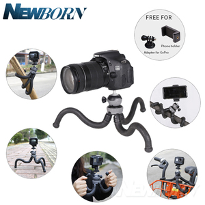 Image 5 - Cima pro RM 30 Seyahat Açık Mini Braketi Standı Ahtapot Tripod esnek işkembe telefon Için dijital kamera GoPro