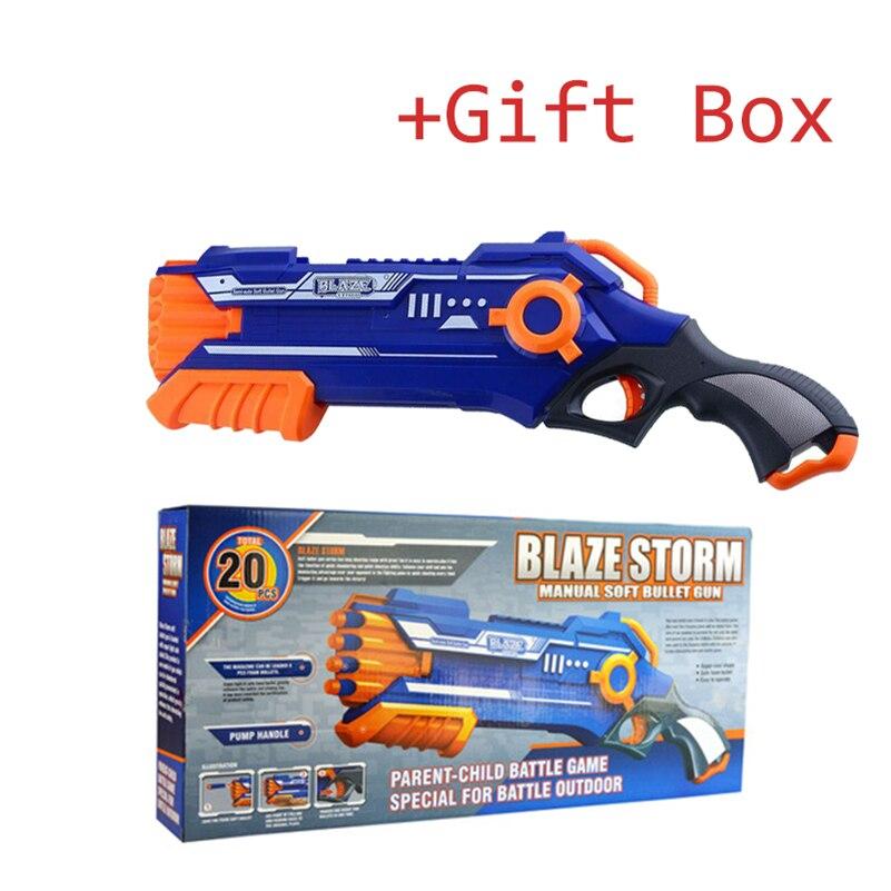 Pistolet Airsoft pistolet Air Nerf balles souples pistolet armes Pistola pistolet avec Pulka jouet pistolet Nerf rivaux pistolet jouets pour garçons anniversaire