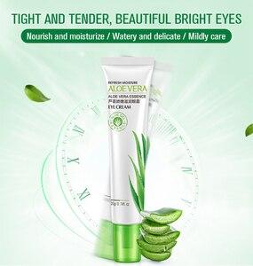 Hanchan Aloe Eye Cream Gel Natural Skin Care Whitening Moisturizing Anti-aging Wrinkle Remove Dark Circles Serum Cream