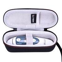 Ltgem eva shockproof 방수 운반 하드 케이스에 맞는 iproven DMT 489 귀 온도계-에서여행 가방부터 수화물 & 가방 의