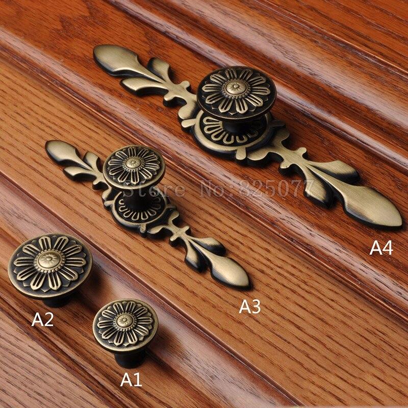 8 шт. латунь винный шкаф ручки ящика Мебель шкаф Кухня двери шкафа тянет ручки и ручки jf1398