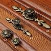 8PCS Brass Wine Cabinet Wardrobe Knobs Drawer Furniture Cupboard Kitchen Cabinet Door Pulls Handles And Knobs