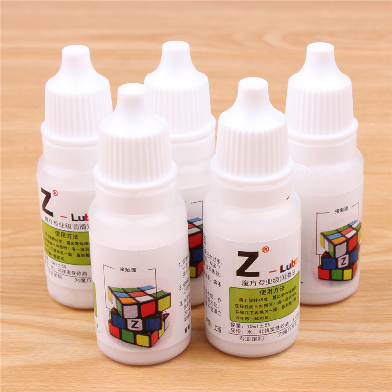 Maru Lube Magic Speed Cube Lubricating  Z-lube Cube Oil Best Silicone Lubricants