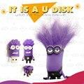 Милый мультфильм usb flash drive приспешников ручка привода 16 г/8 г/4 г usb флэш-памяти stick usb 2.0 флэш-карты