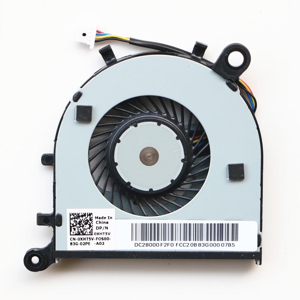 New FCN FFH0 Fan For Dell XPS13 9343 9350 9360 Cpu Cooling Fan CN-06YT3R CN-0XHT5V