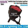 Full color unique led 54 3w par light,rgb 3in1 led par light 3w x 54 for stage DJ club party