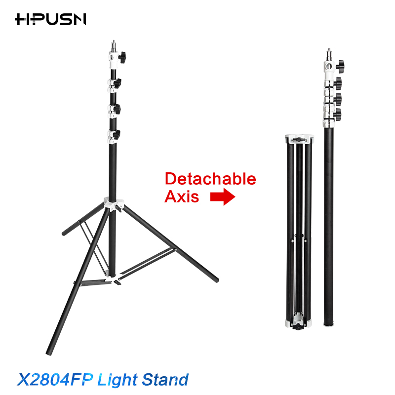 ФОТО HPUSN good quality 280cm Professional Photo air cushion Light Stand with Detachable Axis boom arm mount umbrella softbox holder