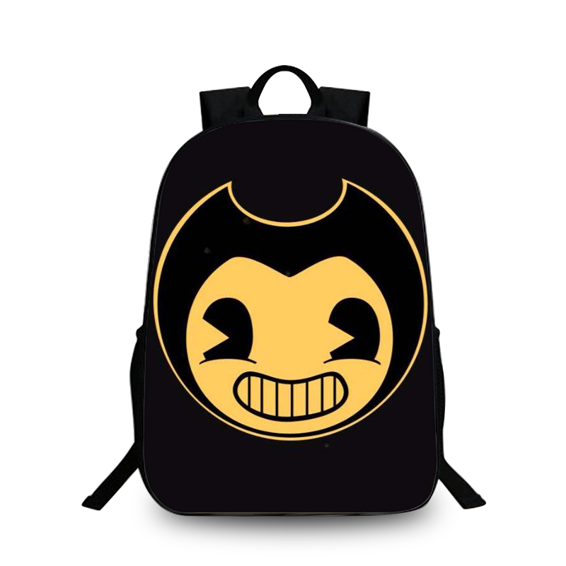 Bendy And The Ink Machine Backpack For Teens Back To School Bags Student Bookbag Daily Backpack Mochila Notebook H203