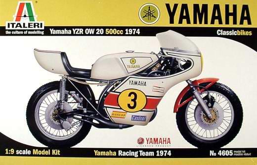 italeri 4605 1/9 yamaha YZRW20 500CC plastic model kit yamaha 9 9 fmhs в красноярске