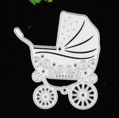 Baby Shower Stencils Die Cut Small Contours Metal Cutting Dies For DIY  Scrapbooking Photo Album Decorative