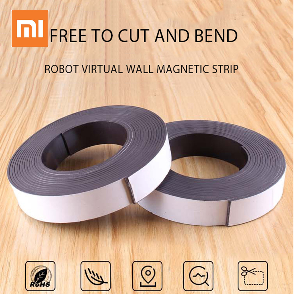 2m Virtual Magnetic Stripe Wall for xiaomi Robot Vacuum Cleaner virtual Walls Accessory for Sweeping Robot 1/ 2 Generation2m Virtual Magnetic Stripe Wall for xiaomi Robot Vacuum Cleaner virtual Walls Accessory for Sweeping Robot 1/ 2 Generation