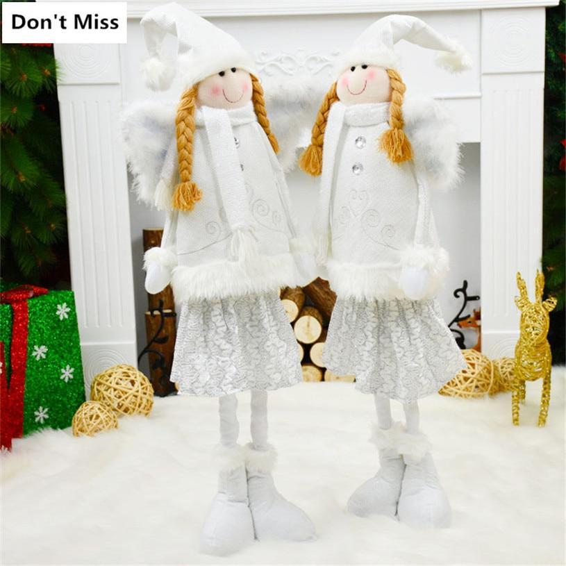 Tanie świąteczne Dekoracje Dla Domu Anioł Lalki Festiwal Decor