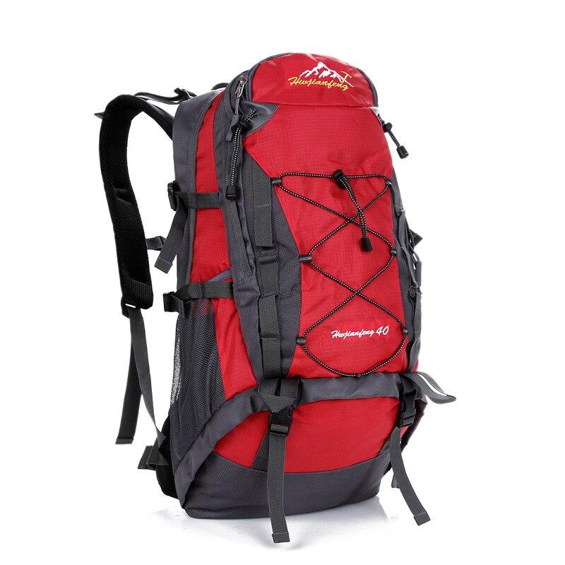 ФОТО Men Women Nylon Travel Backpack Mountaineering Multifunctional Waterproof Backpack Camouflage Pack Schoolbag