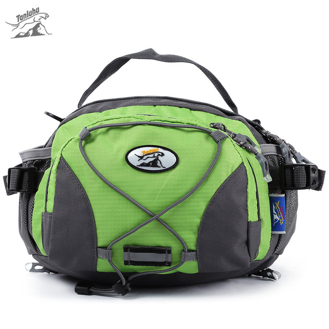 0f3dcaf9e41b US $24.69 |Tanluhu Multifunctional Waist Bag water resistant nylon Zipper  pocket Outdoor Traveling Running Waist Shoulder Bag Handbag-in Climbing  Bags ...