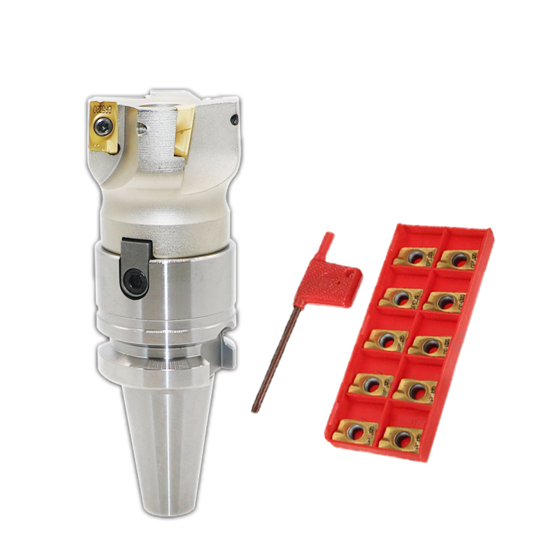 C3//4-FMB22 Holder Face Mill Cutter 400R-50-22 With 10Pcs APMT1604 Carbide Insert