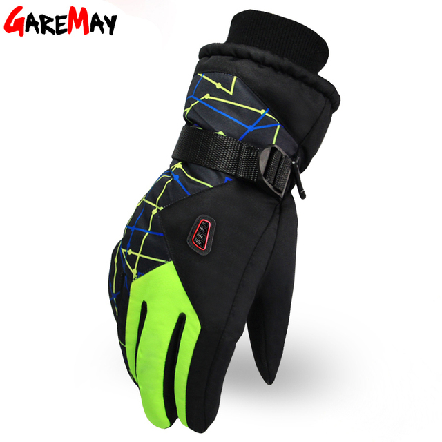 Free Shipping New Fashion Winter Ski Gloves Waterproof Bicycle Motorcycle Full Finger Outdoor Sports Warm Thermal Gloves