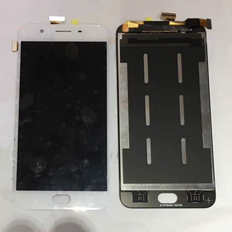 ФОТО 100% tested LCD screen display+Touch digitizer For OPPO A59 A59M white color Free Shipping