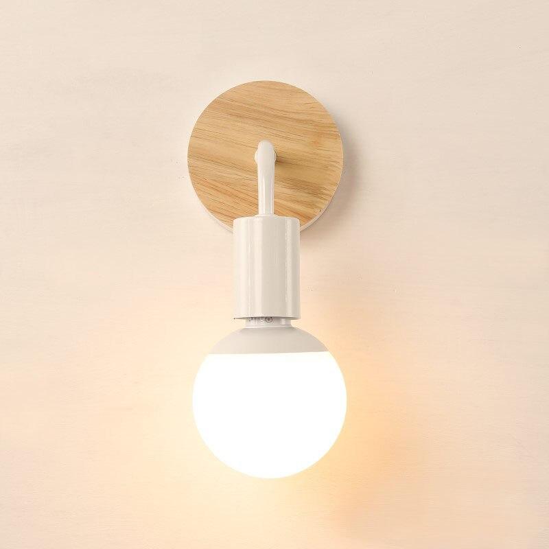 Ledream черный/белый горячая Распродажа современные лампы деревянная стена света Спальня кухня зеркало свет аппликация Ресторан бра