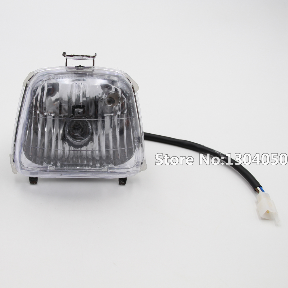 Headlight Head Light For 50cc 70cc 90cc 110cc Chinese Quad ATV Four Wheeler