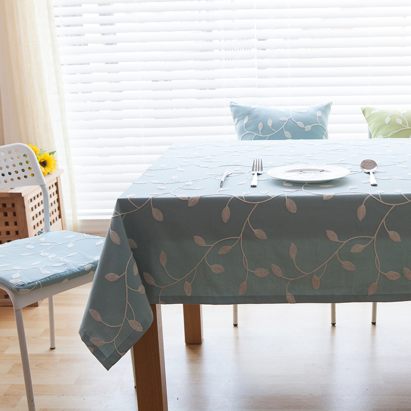 fudiya table cloth high simple style quality dinner tablecloth decorative elegant table cloth linen table cover
