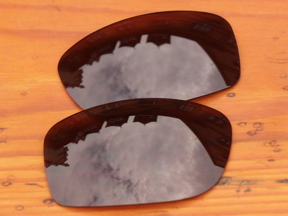 Медно-коричневый Поляризованные замены линзы для питбуль солнцезащитные очки кадр 100% UVA и UVB Защита