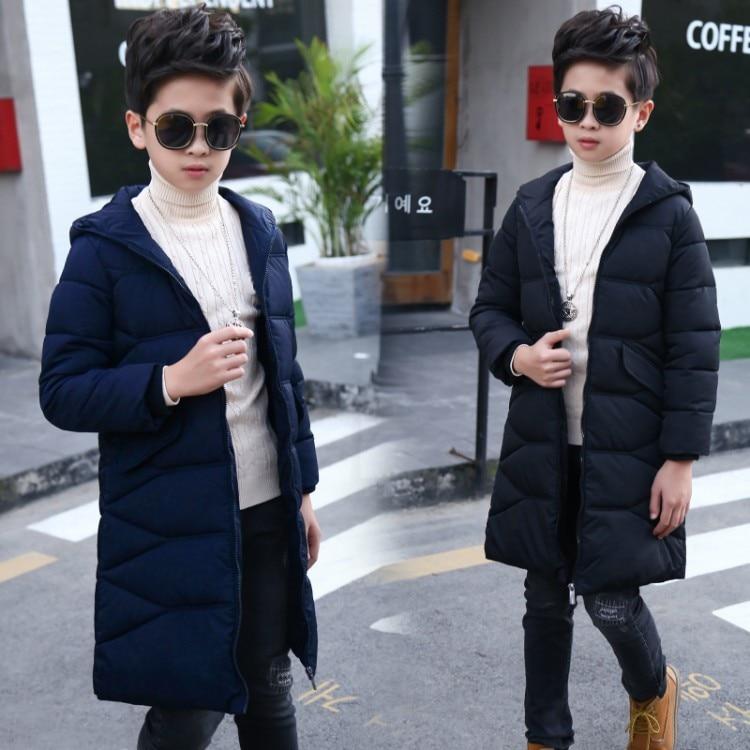 2018 Autumn Winter Cotton Jacket For Boys Children Jacket Kids Hooded Warm Outerwear Slim Coat For Boy Clothes и м стронская 150 тренировочных упражнений по русскому языку 5 9 классы