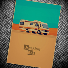 USA Movie poster wall paint retro Kraft Paper Poster breaking Bad Movie drawing Wall Sticker Home decor 42*30 cm