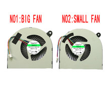 CPU GPU ventilador de refrigeración para Acer Aspire Nitro VN7-591 VN7-591G DFS531105MC0T FG28 DFS531005PL0T FG2C AB07505HX070B00