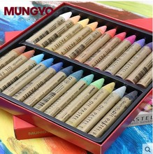 MUNGYO MAO series Extra smooth water soluble Oil Pastel 12/24 colors ART drawing supplies